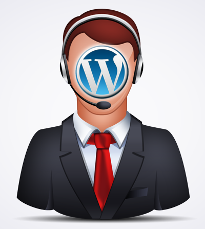 WordPress-Service-Hotline